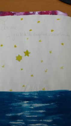 For me... you'll be the brightest star in the sky - boyfriend quote - Amber van Dinther