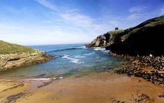 Ermita y Playa De Santa Justa Cantabria Spain