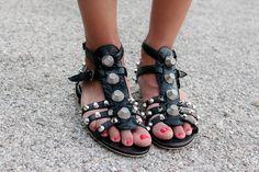 Balenciaga sandals.