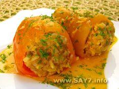 Рецепт перец болгарский фаршированный мясом и рисом рецепт с фото