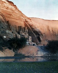 egypt in color, Autochromes taken by Gervais Courtellemont and W. Robert Moore for National Geographic.