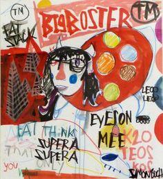 Big Booster - Artist, Painter, Illustrator, Simon Buch, Illustration, Colorful, People, Pop Art, Street Art, : www.artunika.com / www.artunika.dk