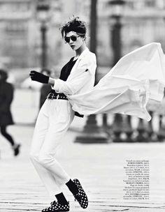 """Street Dance"" : Karlie Kloss : Vogue Paris March 2013 : Lachlan Bailey"