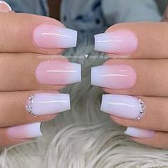 Spring Fever Nails - 50 Super Cute Spring Nails Do you have Spring Fever? You should because today is the first day of Spring! This is why we found 50 of the cutest Spring Nails for you to enjoy with us. Cute Acrylic Nail Designs, Ombre Nail Designs, Summer Acrylic Nails, Best Acrylic Nails, Gorgeous Nails, Pretty Nails, Super Cute Nails, Milky Nails, Cute Spring Nails