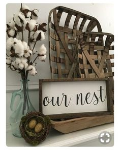 Decor above your fireplace or floating shelf. Get the rustic look. #ad