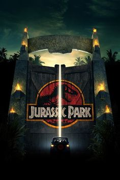 """""""Jurassic Park"""" by Michael Crichton has inspired soon to be four films with the release of Jurassic World. Michael Crichton, Love Movie, Movie Tv, Jurassic Park 3, 3d Poster, Print Poster, Art Print, Bon Film, Vintage Films"""