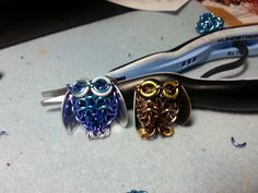 Chainmaille owls