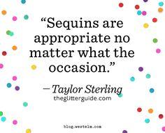 Taylor's motto — @Glitter Guide