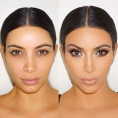 Kim Kardashian Without Makeup: See How Different She Looks Before and After Her Beauty Routine!  Kim Kardashian, Instagram, Makeup