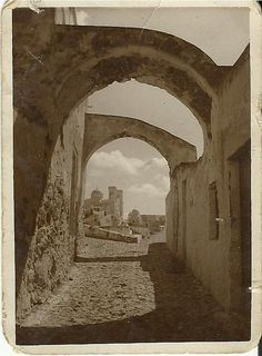 Hypapante, 1936 (Santorini, Greece) Guide To The Galaxy, Archaeological Site, Mount Rushmore, The Past, Santorini Greece, Island, Mountains, History, World
