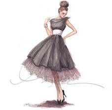 Dress drawing idea