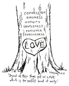 #scripturedoodle Colossians 3:13 print