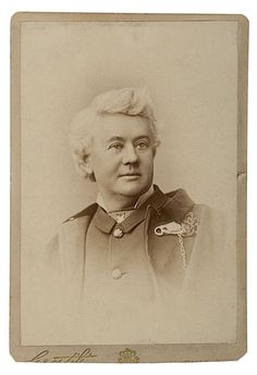 F.W. Benteen, 7th. - that hair! Quite styled in most photos.