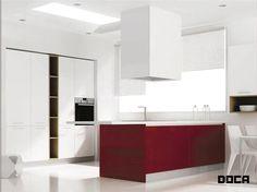 Muebles de cocina gama Basic de Doca de venta en Sánchez Plá http://www.sanchezpla.es/muebles-de-cocina-doca-eco-basic/