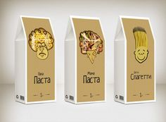 Pasta package by VIsualbox , via Behance