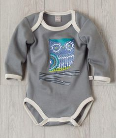 Whoooo will be adorably cute in this Hallmark Baby original bodysuit? Your little bird will be :)