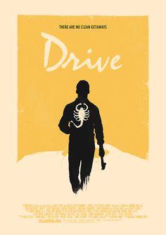 « Drive (2011) Custom Poster Variant » par Edward B.G.