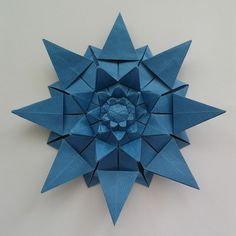 8-point Fujimoto's star (back side) by Dasssa, via Flickr