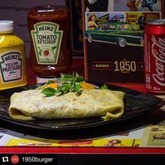 Domingão à noite pede um crepe e o @1950burger possui pratos fantásticos! Não deixe de experimentar hoje à noite na Praia do Canto.  Repost: E vamos começar a semana de crepe?! Temos as mais variadas opções em nosso cardápio de crepe... Filé mignon peito de peru camarão bacalhau e tantas outras e com certeza uma vai agradar ao seu gosto  A fome apertou? Vem pro 1950 Burger e Crepe!! by belugo.app