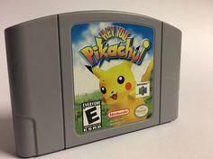Hey You, Pikachu (Nintendo 64, 2000)   | eBay