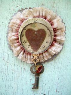 Valentine Brooch. $60.00, via Etsy.