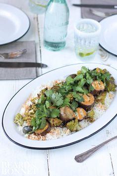 Romanesco and Eggplant Curry {Beard and Bonnet} #glutenfree #vegan
