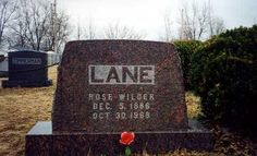 Rose Wilder Lane - Author. Known for her short stories, novels, and political essays during the early twentieth century. Daughter of author Laura Ingalls Wilder.
