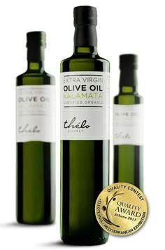 Thélo Gourmet Extra Virgin Olive Oil | Packaging of the World: Creative Package Design Archive and Gallery