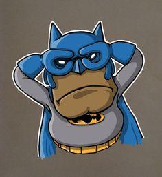 "Batman doing the ""Batman"""