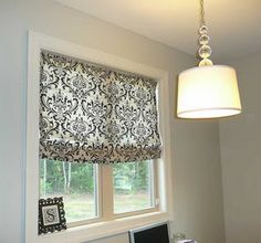 Mini-Blinds to Roman Shades