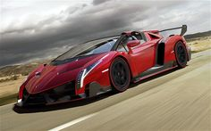 The 8 Most Expensive Supercars Of 2014:  #1 Lamborghini Veneno Roadster – $4,500,000