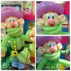 Dopey balloon decor