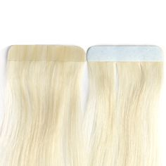 Addbeauty Tape In Hair Extension 40g/pack,613# 100% Brazilian Straight Remy Human Hair Extensions 20pcs /set
