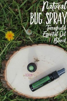 Natural Bug Spray-- Use Terrashield Essential Oil Blend this summer to protect your kids the natural way!