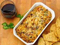 Recipe for Chorizo Cheese and Black Bean Dip Paired with La Posta Cocina Tinto, Argentina