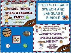 Hi! We put together some fun worksheets and activities for our sports-themed therapy weeks that we are currently providing for our speech and language students. It is the end of the year and we noticed that they all seem a bit fidgety and we knew that they would benefit from a themed unit that would get them moving and enjoying some fun sports!The students are having a lot of fun playing basketball in our inside basketball hoop, throwing footballs, and playing mini golf in our...
