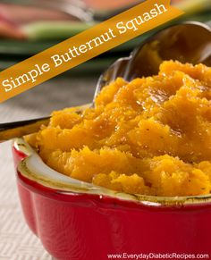 Simple Butternut Squash | An easy recipe for making the best butternut squash with only 5 ingredients!