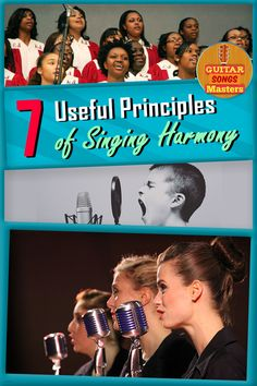 How to Sing Harmony: Complement And Enhance Any Song In The Jam! - Even if you are not the best singer out there, you can ALWAYS complement a song by kickin' in and singing some harmonies. Singing Lessons, Singing Tips, Singing Quotes, Lesson Quotes, Guitar Songs, Piano Lessons, Music Lessons, Music Covers, Cool Guitar