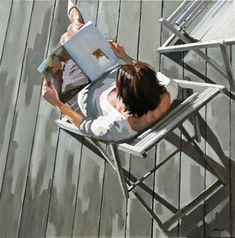 Reading and Art: Nicolas Odinet