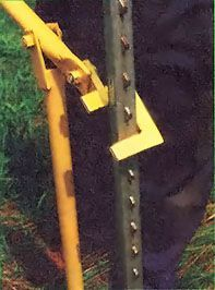 low-cost metal fence post puller you can assemble from low-cost materials. Metal Projects, Welding Projects, Projects To Try, Welding Ideas, Cool Tools, Diy Tools, Welding Jobs, Welding Art, Welding Equipment