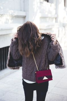 Kinda cosy. #style #knit #coldweather