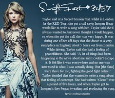 taylor swift facts Taylor Swift Blog, Taylor Swift Fan Club, All About Taylor Swift, Taylor Swift Facts, Long Live Taylor Swift, Taylor Swift Quotes, Taylor Swift Pictures, Taylor Alison Swift, Imogen Heap
