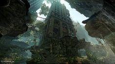 ArtStation - Crysis 3 MP - Financial District, Joakim Stigsson