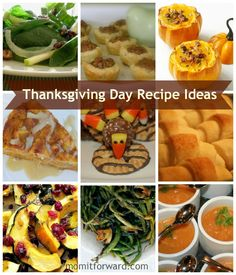 Round Up: Thanksgiving Day Recipe Ideas