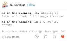24 Tumblr Posts That Sum Up Your Complicated Relationship With Sleep
