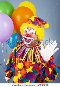 Clown ~ figure Balloons & juggling