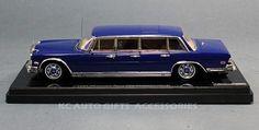 1969 Mercedes-Benz 600 Pullman Blue Elvis Presley 1:43 Scale Car by TSM-Model 144339