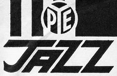 Pye Jazz, sublabel set up by Pye Records and dedicated to Jazz releases, Dr Book, Music Logo, Over The Years, Jazz, Indie, Lost, Books, Libros, Jazz Music