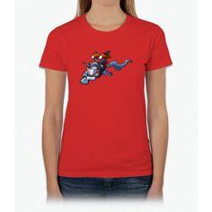 Jetpack Unicorn Womens T-Shirt