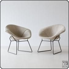 Diamond Lounge Chair From The Sixties By Harry Bertoia For Knoll  International | Vintage Design Seating | Pinterest | Harry Bertoia